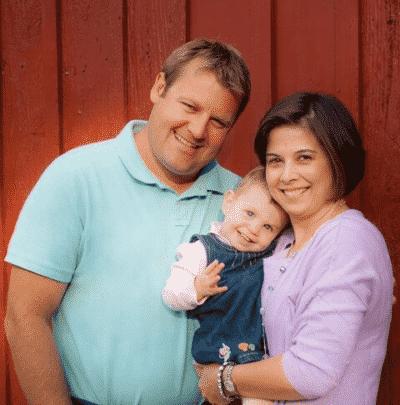 Family of three through adoption.